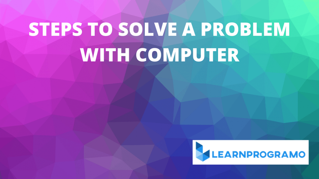 problem solving through programming in c