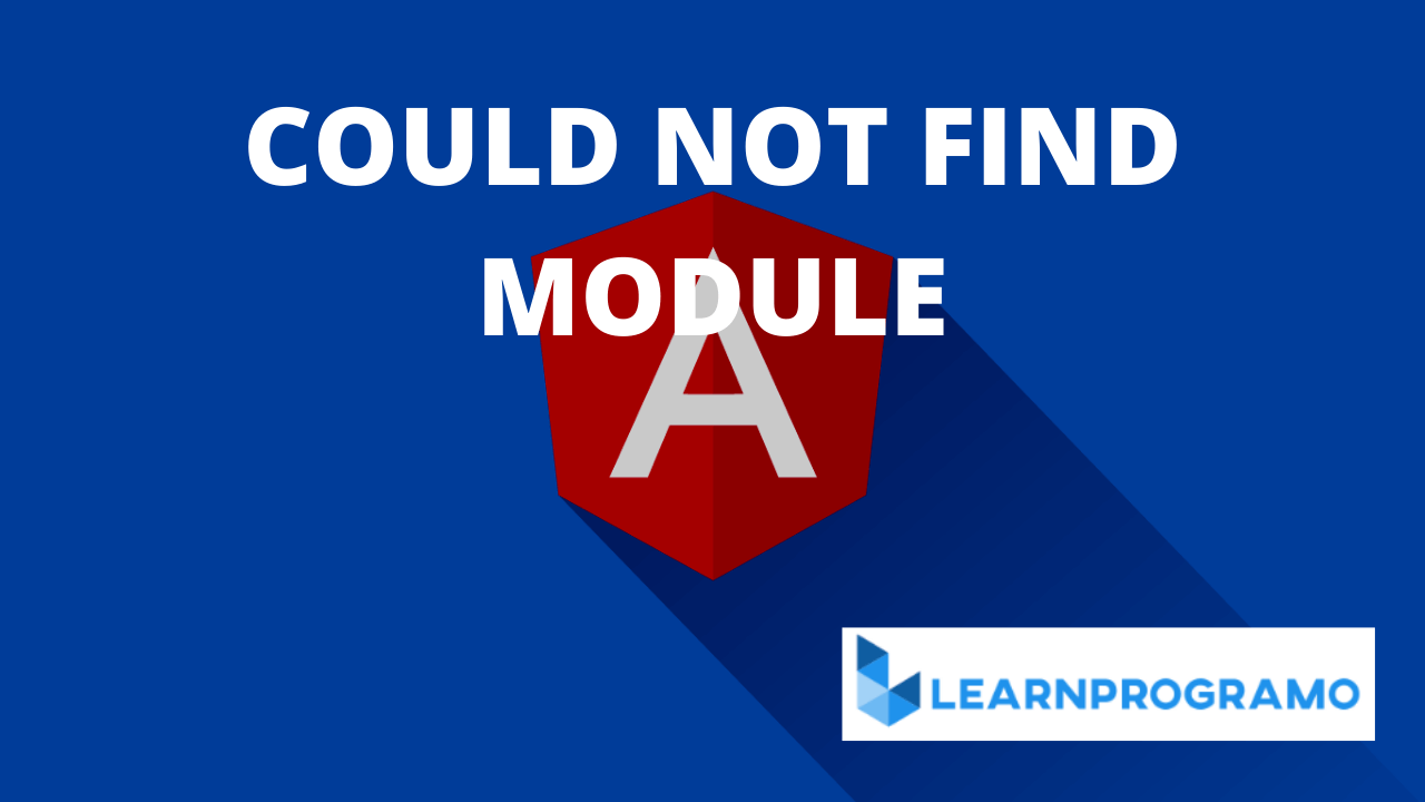 "could not find module ""@angular-devkit/build-angular"""